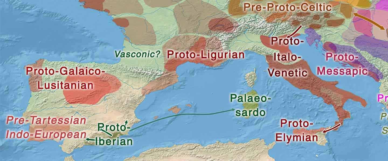 Hidrotoponimia europea (II): vascos, iberos y etruscos tras arqueo-indoeuropeos