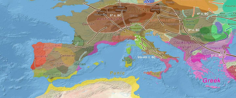 Indoeuropeos preceltas descendientes de campaniformes ibéricos de haplogrupo R1b-P312