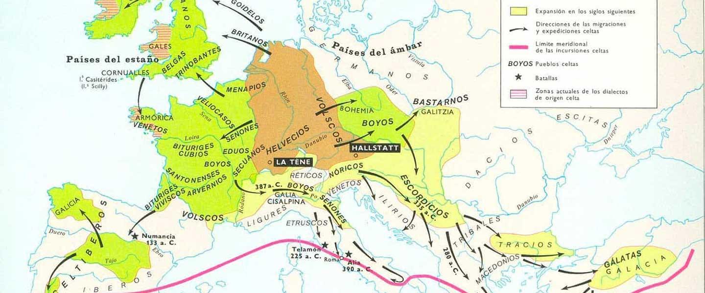 Hidrotopinimia europea (VII): Céltico del oeste o del este?
